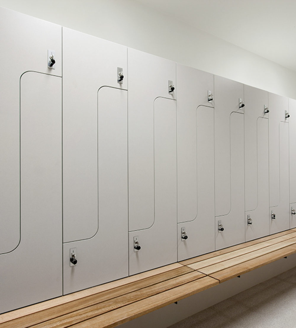 Audi Doncaster change room lockers lockin lockers australia 1