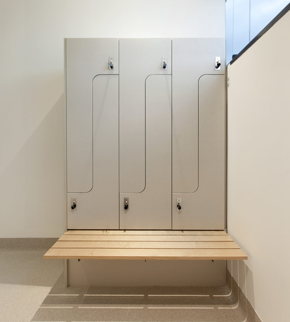 Audi Doncaster change room lockers lockin lockers australia 3