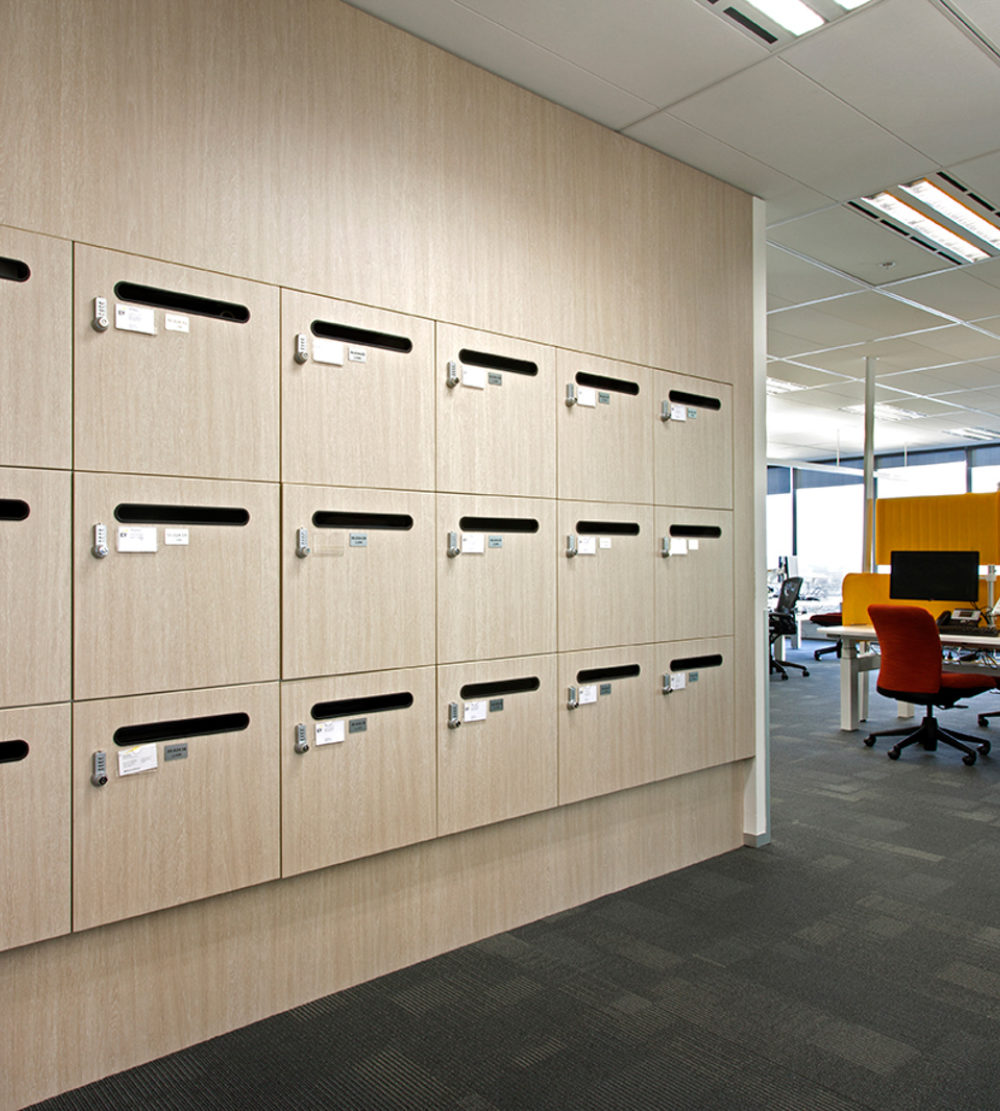 Ernst Young office lockers lockin lockers australia 1