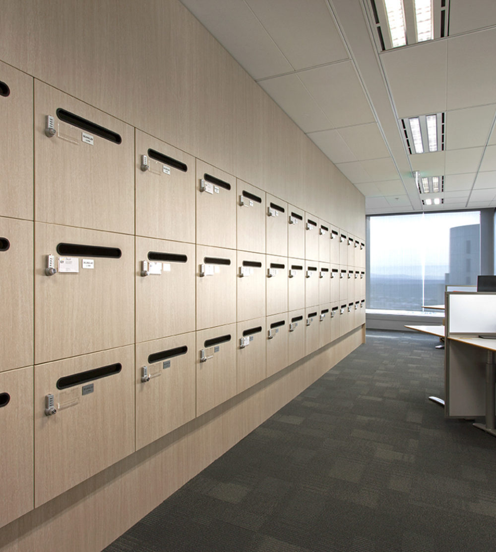 Ernst Young office lockers lockin lockers australia 4