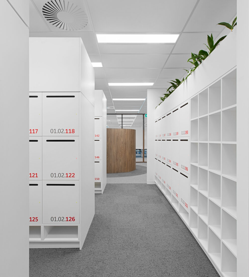 Toyota Australia office lockers lockin lockers australia 5