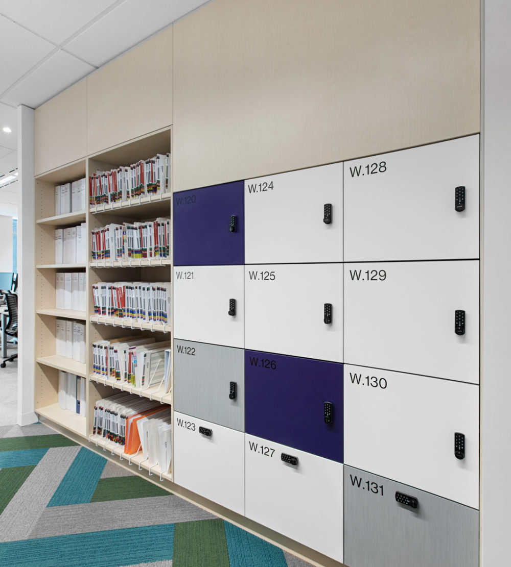 Willis Towers Watson office lockers lockin lockers australia 2