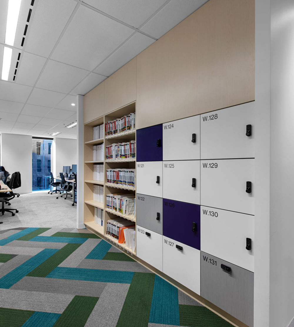 Willis Towers Watson office lockers lockin lockers australia 3