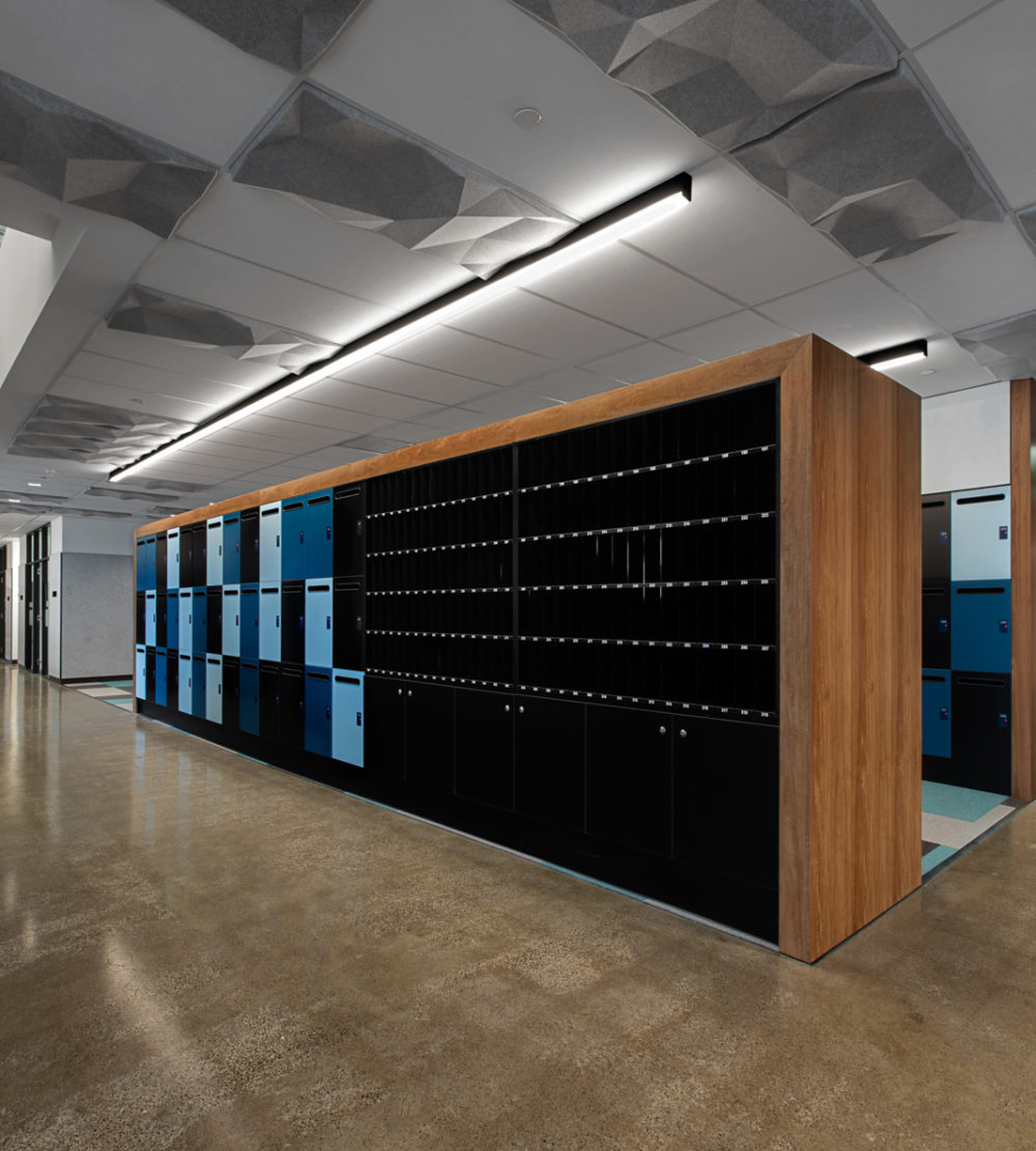 Office lockers Leo Cussen Centre lockin lockers australia 5