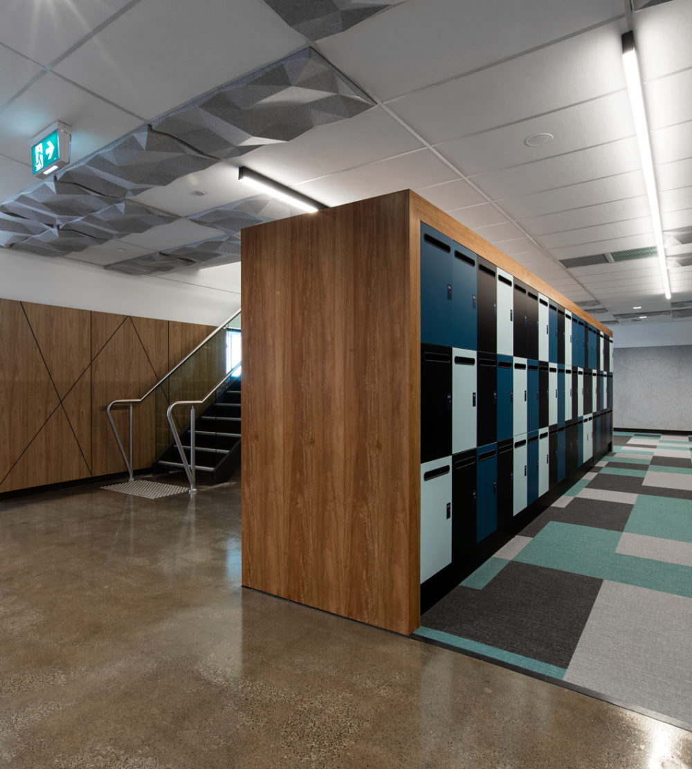 Office lockers Leo Cussen Centre lockin lockers australia 6