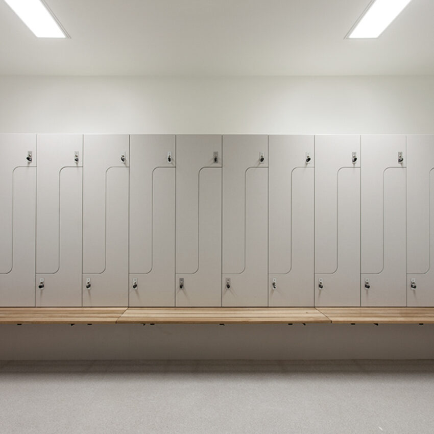 Audi Doncaster change room lockers lockin lockers australia 2
