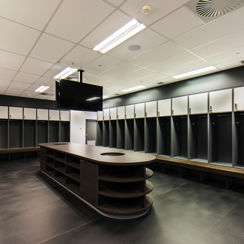 Melbourne Rebels change room lockers lockin lockers australia 4