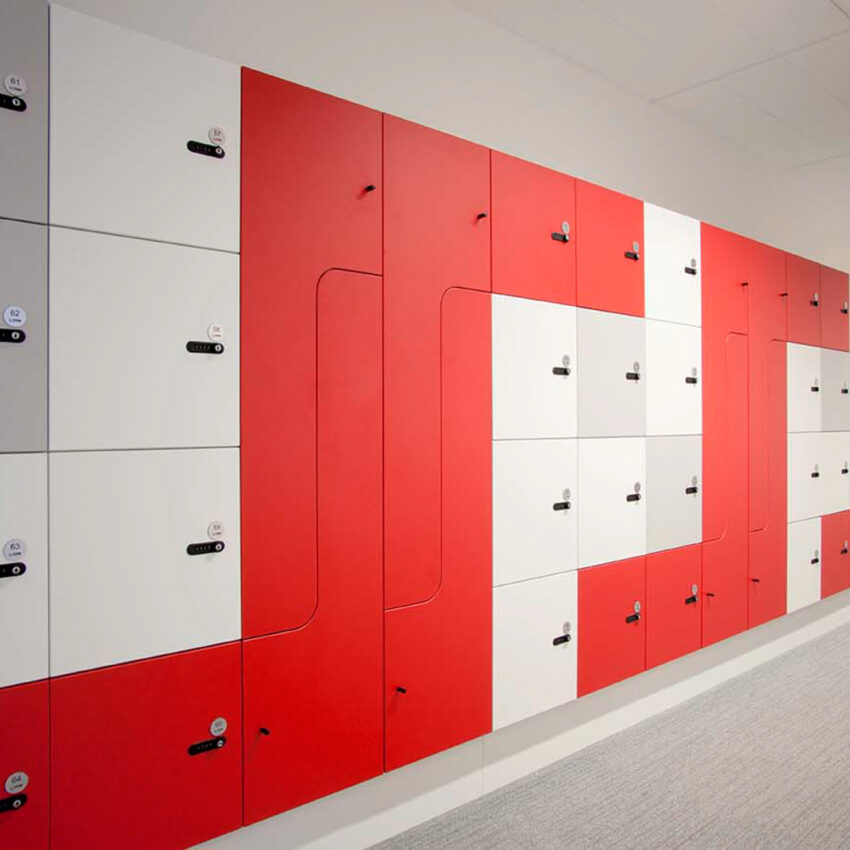 Myer Family corportation office lockers lockin lockers australia 1