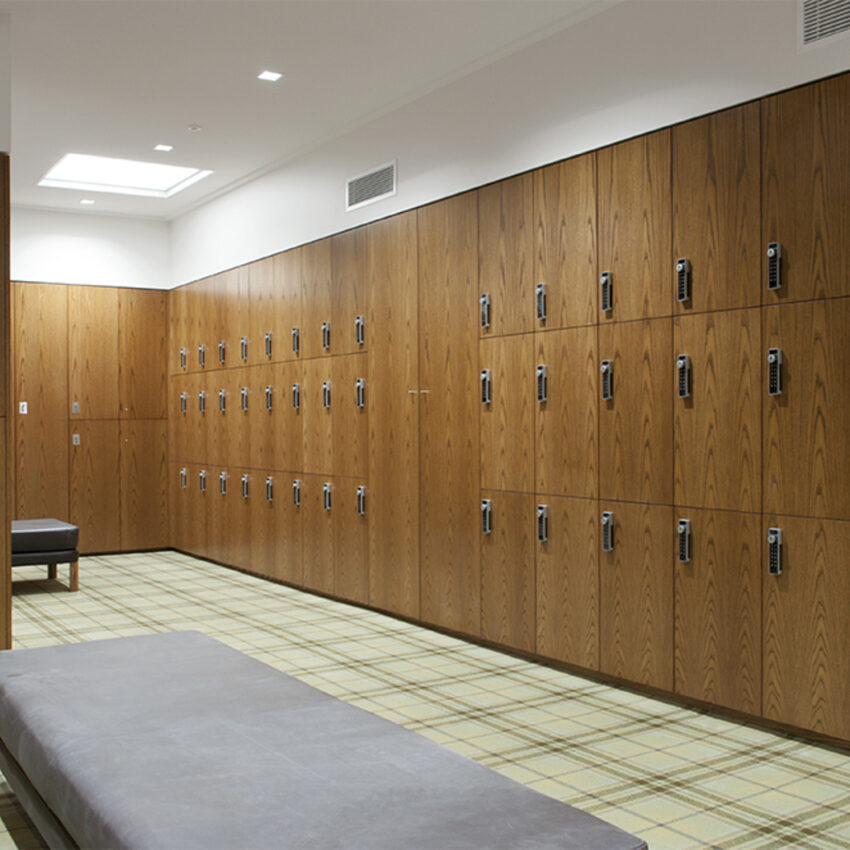 Royal Melbourne Golf Club change rooms lockers lockin lockers australia 1