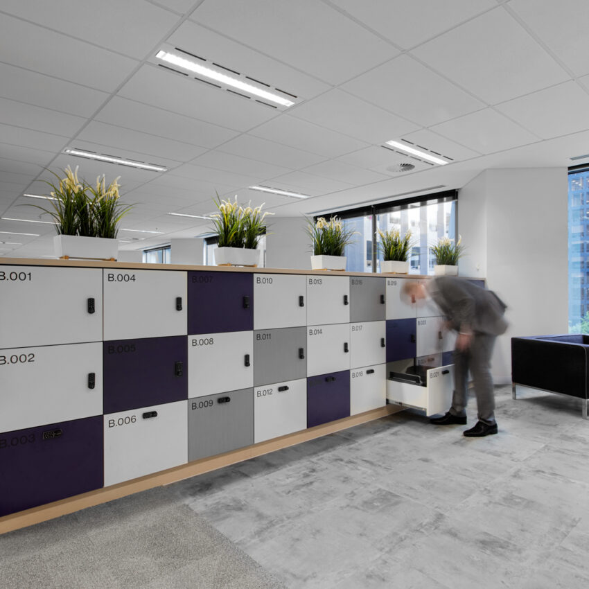Willis Towers Watson office lockers lockin lockers australia 1
