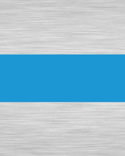 Metalex 0004 Brushed Silver Blue