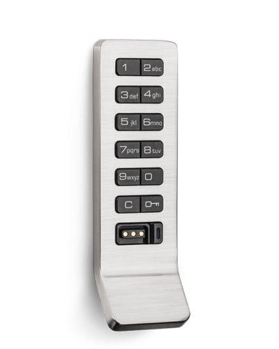 Locker locks 600x740 lockin aspire keypad silver narrow handle angle