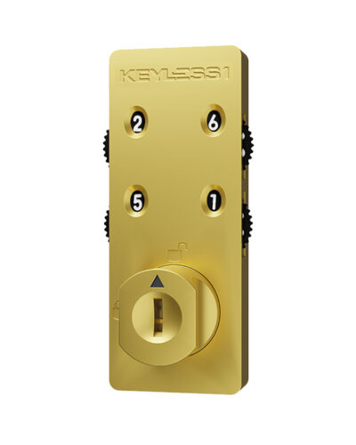 Locker locks lockin 600x740 3 keyless combination lock gold
