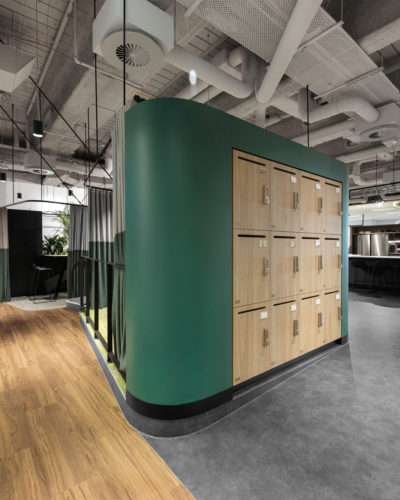 Office lockers JLL collins street lockin lockers australia 7