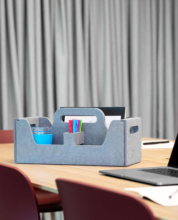 Locker accessories 0000s 0000 desk caddy grey web
