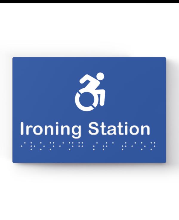 Lockin signage 10 Accessible ironing station sign
