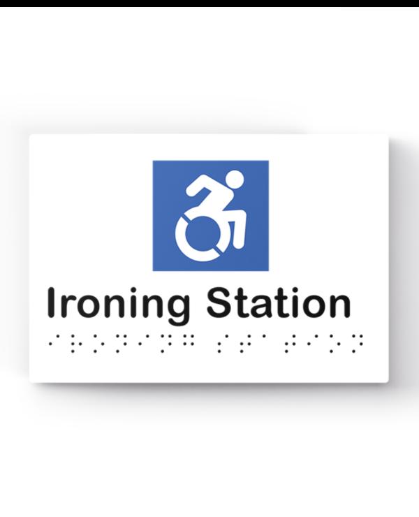Lockin signage 12 Accessible ironing station sign
