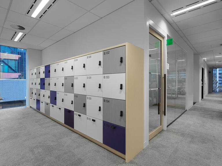 Willis Towers Watson office lockers lockin lockers australia 4