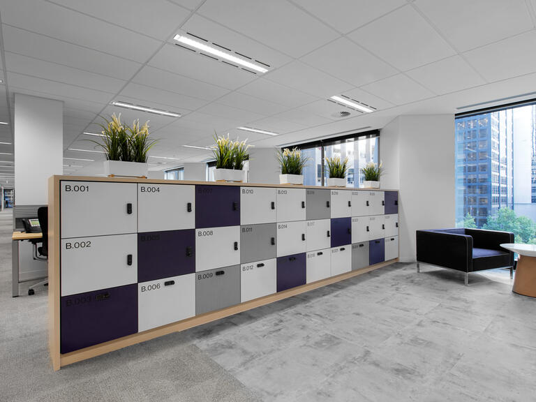 Willis Towers Watson office lockers lockin lockers australia 6