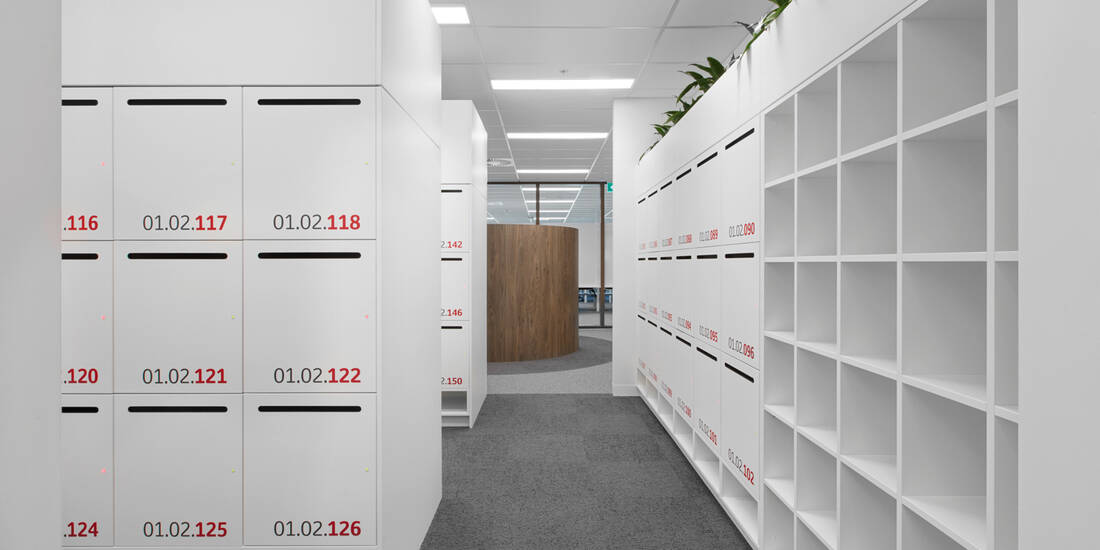 Toyota Australia office lockers lockin lockers australia 4