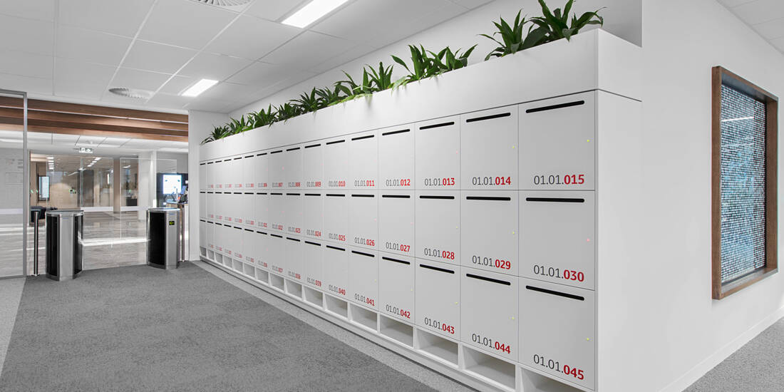 Toyota Australia office lockers lockin lockers australia 12