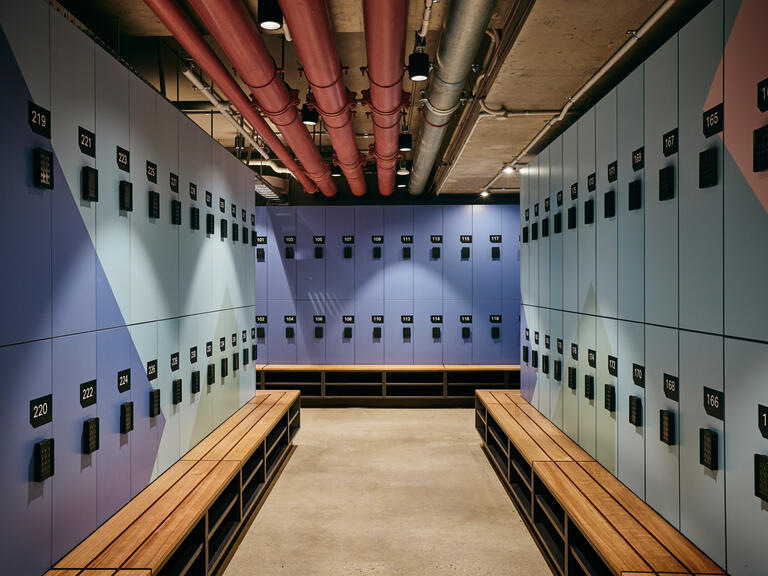 Southgate Towers end of line lockers lockin lockers australia 3