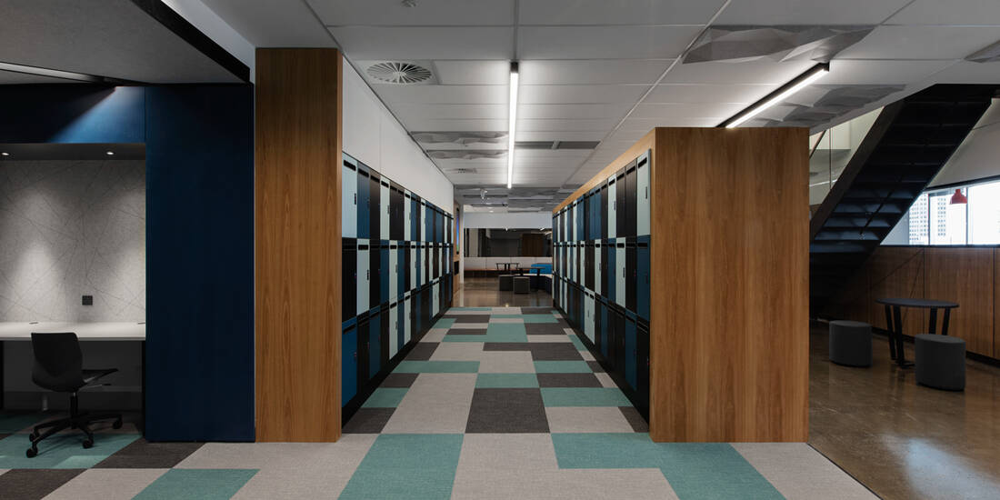 Office lockers Leo Cussen Centre lockin lockers australia 2