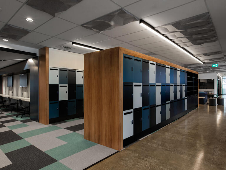 Office lockers Leo Cussen Centre lockin lockers australia 3