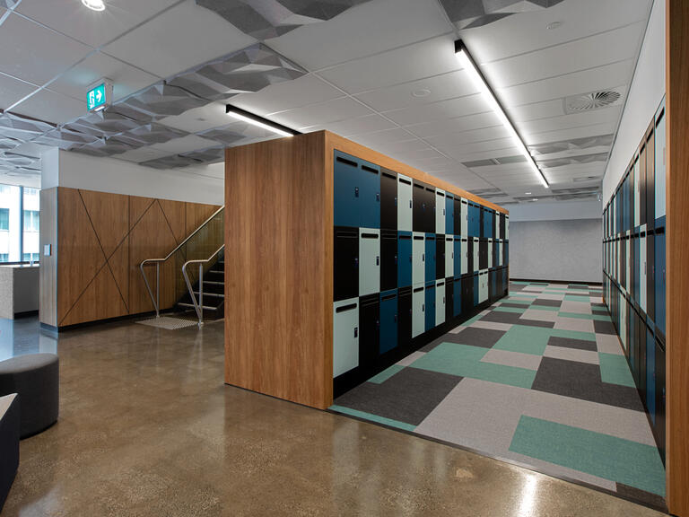 Office lockers Leo Cussen Centre lockin lockers australia 8