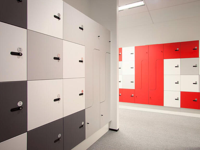Myer Family corportation office lockers lockin lockers australia 2