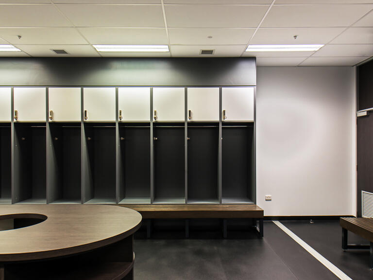 Melbourne Rebels change room lockers lockin lockers australia 3