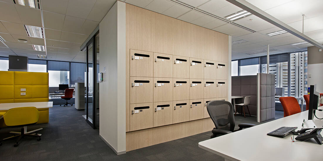 Ernst Young office lockers lockin lockers australia 3